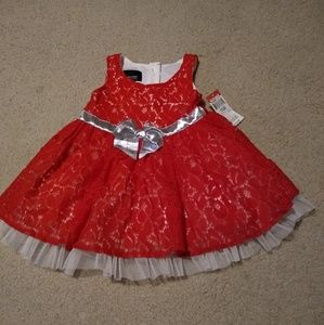 NWT Holiday Editions dress 12 months